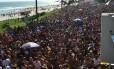 Desfile da Banda da Barra na Avenida Lucio Costa Foto: Divulgação / Foto