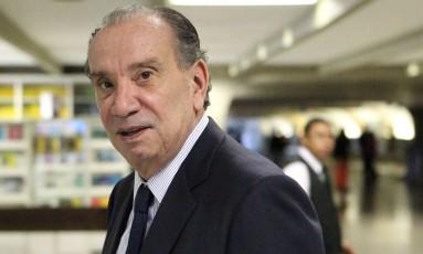O sendor Aloysio Nunes (PSDB-SP) Foto: Michel Filho/Agência O Globo/07-06-2016