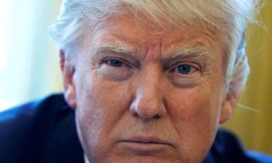 Trump: relação complicada com o Oscar Foto: JONATHAN ERNST / REUTERS