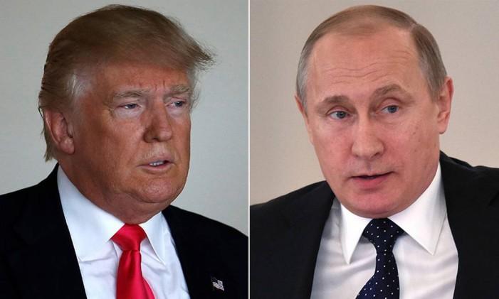 Trump e Putin: relações misteriosas Foto: Reuters
