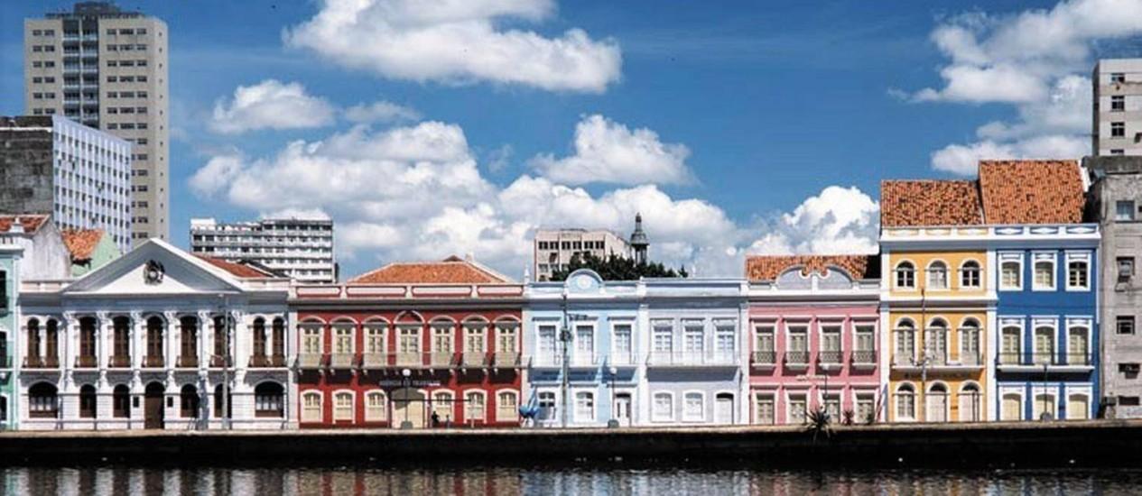 Sobrado da Rua da Aurora, no Recife Foto: Roberta Guimarães / Divulgação