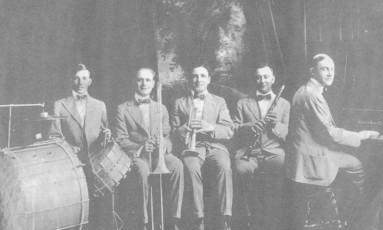 Dixieland Jass Band, foto sem data Foto: Divulgação / Agência O GLOBO