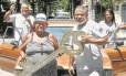 Filhos de Candonga, que foi funcionário da Riotur, guardam em casa a chave entregue, todo ano, ao Momo Foto: Agência O Globo / Antônio Scorza