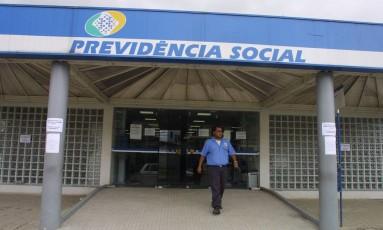 Posto da Previdência Social Foto: Luís Alvarenga / Agência O Globo