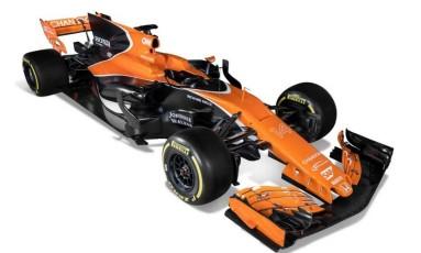 A McLaren apresentou seu carro para 2017, a MCL32 Foto: Divulgação