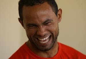 O ex-goleiro Bruno Fernandes, hoje com 32 anos Foto: Carlos Roberto / O Tempo