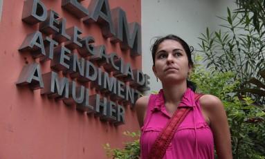 Eliza Samudio registrou queixa contra o goleiro Bruno em outubro de 2009 Foto: Marcelo Theobald 13/10/2009 / Agência O Globo
