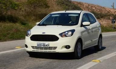 Ford Ka: lingueta do cinto pode não encaixar corretamente no fecho, não oferecendo a proteção adequada aos passageiros Foto: Divulgação