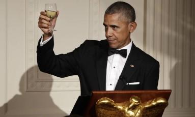 Petição espera convencer Obama a concorrer a presidência francesa com um milhão de assinaturas Foto: Jacquelyn Martin / AP