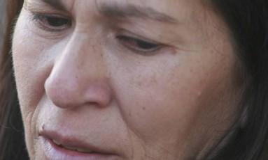 Sônia Moura, mãe de Eliza Samudio Foto: Fabiano Rocha / Fabiano Rocha/Agência O Globo