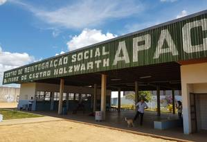 Associação de Proteção e Assistência ao Condenado (APAC), onde o goleiro Bruno cumpre pena de prisão Foto: Alex Capella / Agência O Globo