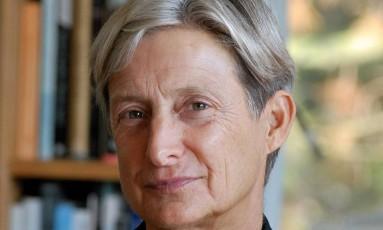 Judith Butler: 'Há uma ampla campanha para silenciar quem tem opiniões críticas a Israel' Foto: Divulgação / Agência O GLOBO