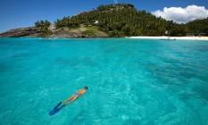 Mergulho nas Ilhas Seicheles Foto: Anthony Grote / AP/Arquivo