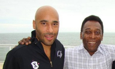 Edinho, filho de Pelé Foto: Agência O Globo