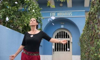 """Sonia Braga em cena de """"Aquarius"""", de Kleber Mendonça Filho Foto: Divulgação"""