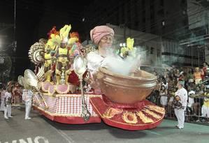 Campeã. Em 2016, a Folia do Viradouro faturou o primeiro lugar dos desfiles de Niterói Foto: Divulgação