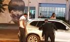 Goleiro Bruno deixa a prisão em MG Foto: Reprodução