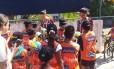 Sucesso. Inauguração do núcleo atraiu crianças e jovens do Terreirão Foto: Divulgação / Light