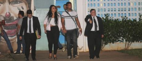 Goleiro Bruno deixa a prisão após 6 anos. Foto: Gladyston Rodrigues / Agência O Globo