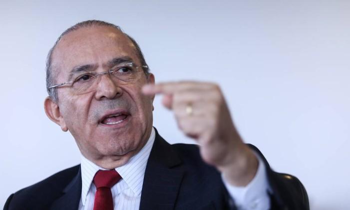 O ministro-chefe da Casa Civil, Eliseu Padilha Foto: Andre Coelho / Agência O Globo / 30-8-2016