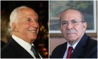 O advogado José Yunes e o ministro Eliseu Padilha Foto: Montagem sobre fotos