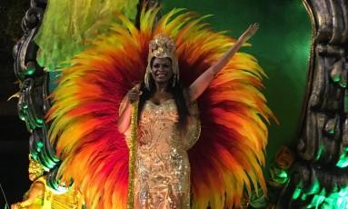 Selminha Sorriso desfila pelo Império da Tijuca Foto: Igor Ricardo