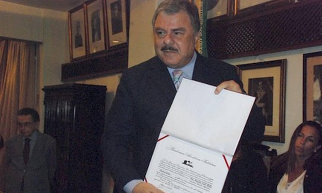 O desembargador Ivan Athié Foto: Divulgação