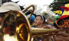 Desfile da Banda de Ipanema na Zona Sul do Rio Foto: Antônio Scorza / Agência O Globo