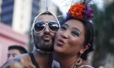 Ma-que-bloco na Vila Madalena: São Paulo se rende ao carnaval com mais de uma centena de blocos nas ruas Foto: Marcos Alves, Agência O Globo