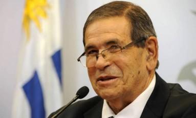 O secretário Antilavagem do governo uruguaio, Carlos Díaz, encontrado morto na piscina de sua casa Foto: Walter Paciello/Presidência do Uruguai