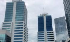 O prédio onde ficava o escritório de Juca Bala, apontado como operador do sitema de Sérgio Cabral, em Montevidéu Foto: Chico Otávio / Agência O Globo