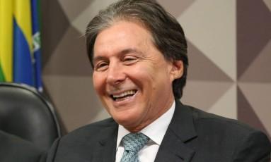 O presidente do Senado, Eunício Oliveira (PMDB-CE) Foto: Ailton de Freitas / Agência O Globo