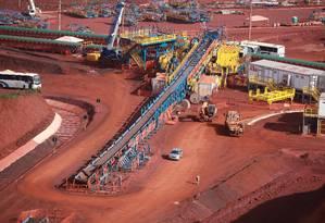 Boa governança. O projeto S11D, em Carajás (PA): mineradora busca fazer parte do Novo Mercado da BM&FBovespa Foto: Eny Miranda / Eny Miranda/Cia. da foto/Vale