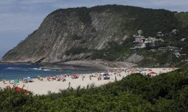 Itacoatiara foi eleita a 12ª melhor praia do país pelo site TripAdvisor Foto: Daniel Marenco / Daniel Marenco/20-12-2015