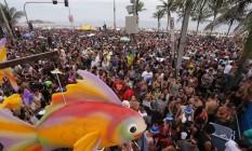 Em Ipanema, o Simpatia É Quase Amor estima que 250 mil pessoas acompanharam o bloco pelas ruas do bairro Foto: Cléber Júnior