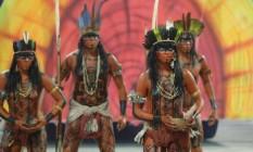 Comissão de Frente da Paraíso do Tuiuti Foto: Marcelo Theobald