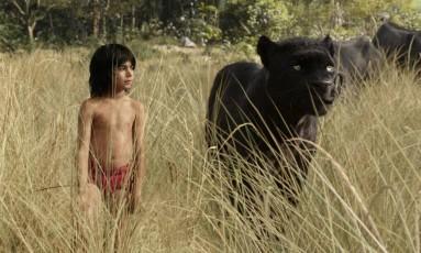 Cena de 'Mogli , o menino lobo' Foto: Divulgação