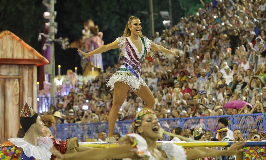 Rainha do carnaval baiano, Ivete Sangalo virou enredo da Grande Rio Marcelo Theobald / Agência O Globo
