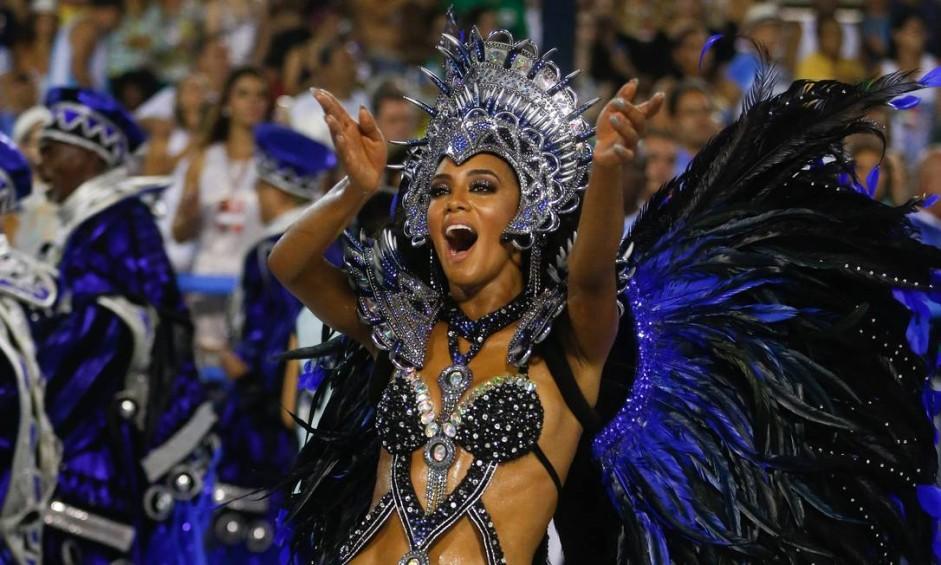 Desfile das Escolas de Samba do Grupo Especial. Vila Isabel Foto: Guito Moreto / Agência O Globo