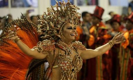 Desfile das Escolas de Samba do Grupo Especial. Viviane Araujo Foto: Márcio Alves / Agência O Globo