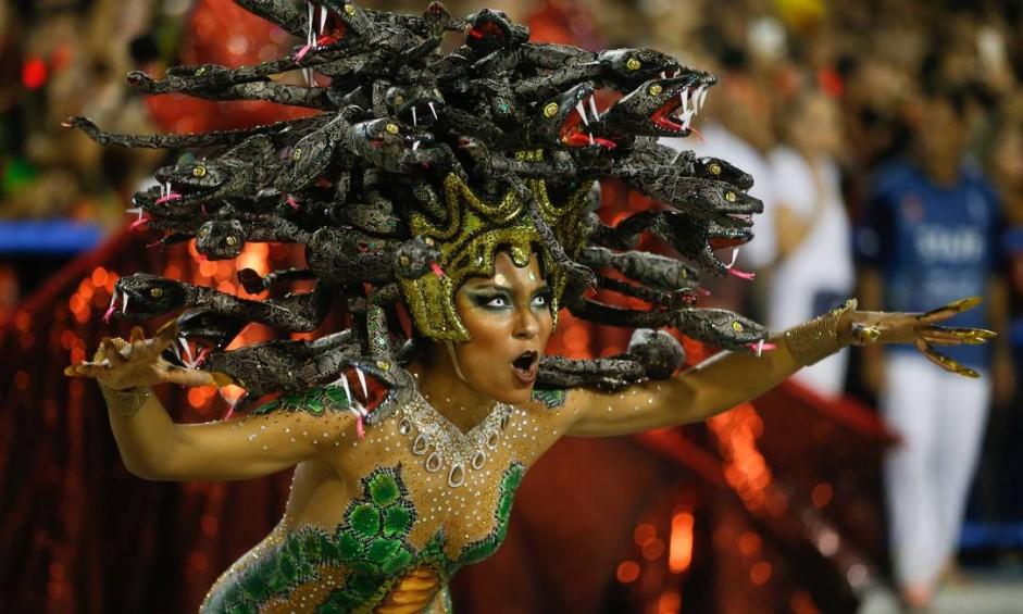 Desfile das Escolas de Samba do Grupo Especial - Salgueiro Foto: Guito Moreto / Agência O Globo