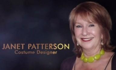 Homenagem a Janet Patterson mostra foto da colega Jan Chapman Foto: Reprodução