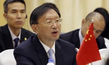 Yang Jiechi deverá encontrar representates do governo americano nesta semana Foto: Tran Van Minh / AP