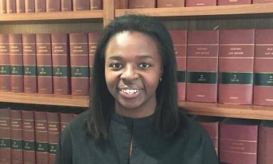 ImeIme Umana: eleita por 92 editores, entre 12 candidatos Foto: Reprodução/ Harvard Law Review