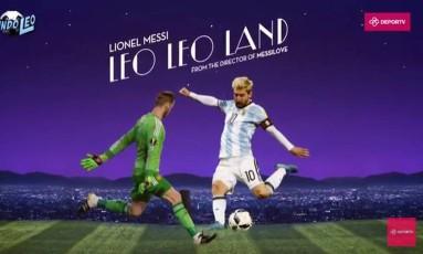 Messi estrela o Leo Leo Land Foto: Reprodução