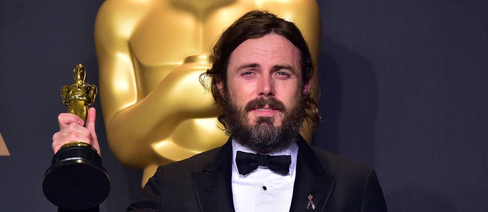 Casey Affleck ganhou o Oscar de melhor ator por sua atuação em