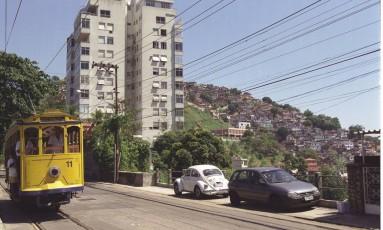 A vista do Morro do Prazeres, em Santa Teresa Foto: O Globo