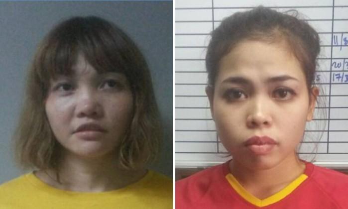 Mulheres envolvidas na morte do líder norte-coreano acusadas de assassinato