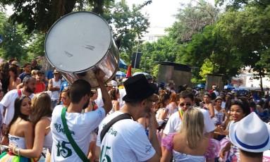 Bloco A Rocha comemora 15 anos de desfiles Foto: Custódio Coimbra / Agência O Globo
