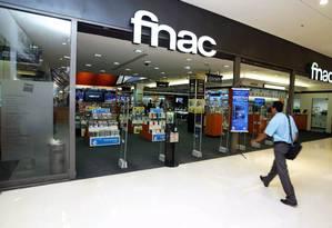A Fnac, no Barrashopping, é uma das dez filiais da empresa francesa no Brasil Foto: Felipe Hanower/08-04-2009